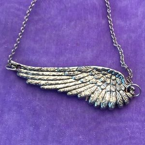 Jewelry - Sterling Silver Angel or Bird Wing Necklace